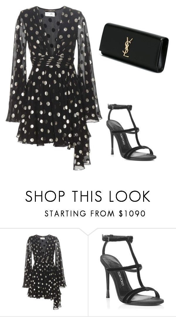 """""""Untitled #1056"""" by danielleam ❤ liked on Polyvore featuring Yves Saint Laurent"""