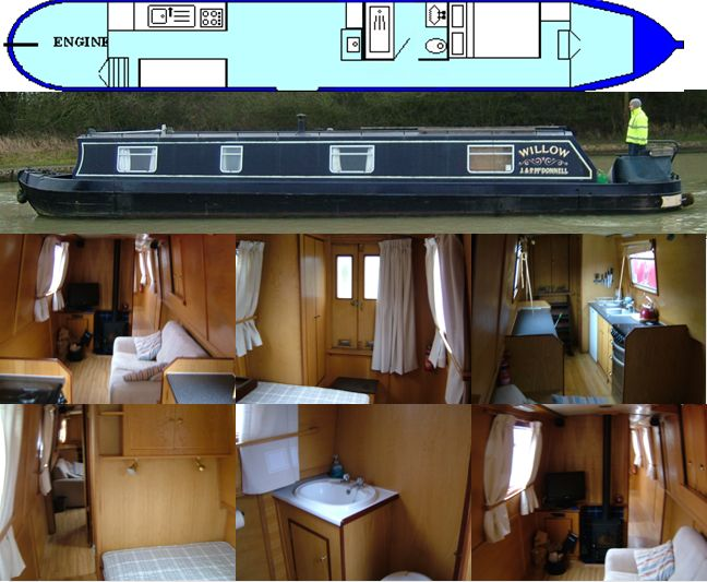 WILLOW 2008 50FT CALCUTT CLIPPER CLASS CRUISER REDUCED £36,500