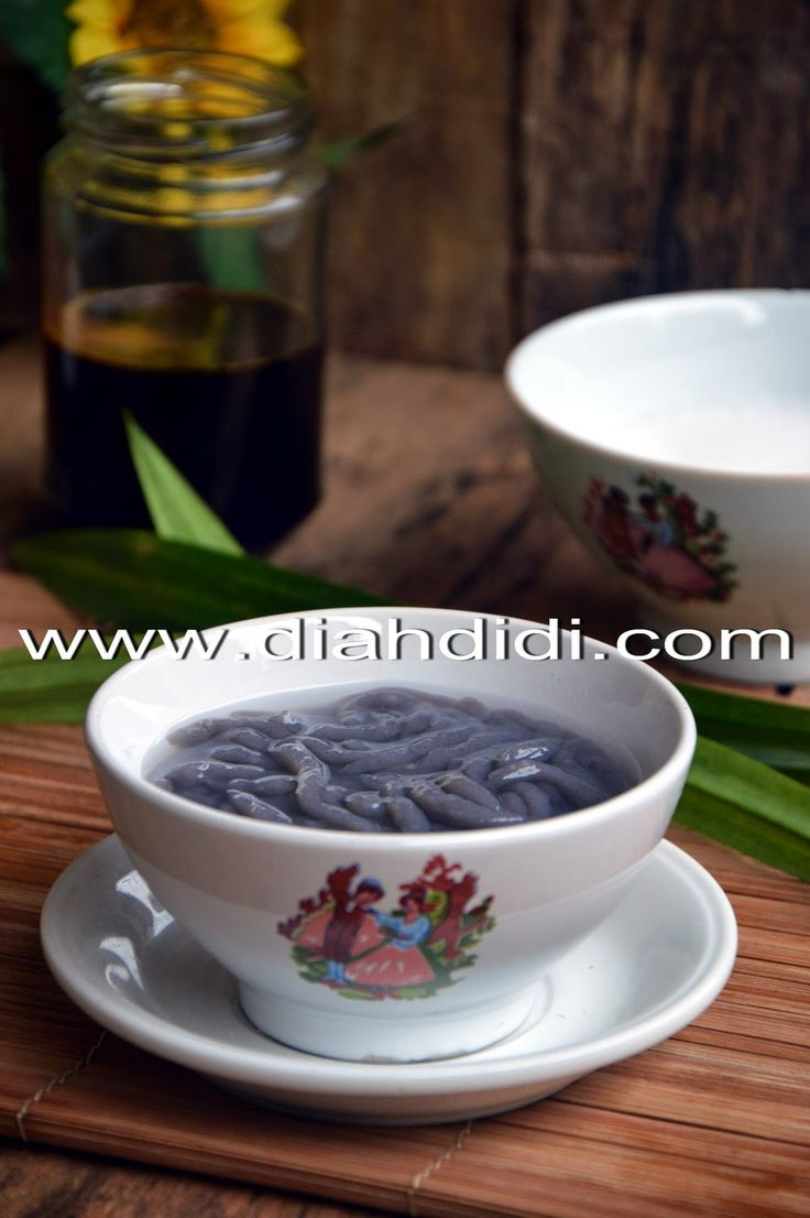 Diah Didi's Kitchen: Dawet Ireng..Beda Resep
