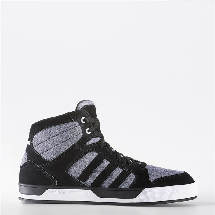 Adidas Raleigh Mid Shoes (Core Black / Black / Running White)