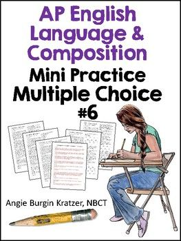 75 best aplac images on pinterest ap english english language and ap english language ap language ap lang multiple choice mini practice set 6 fandeluxe Images