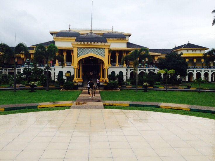 Istana Maimun.... #Saat ku berkunjung ke tanah leluhur....