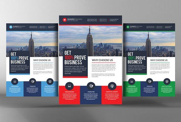 Corporate Flyer For Business by graphicforest on @creativemarket