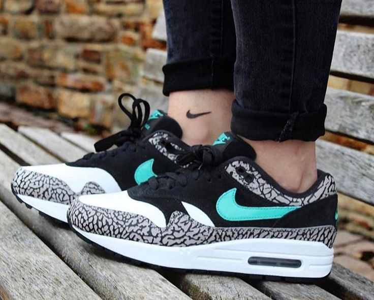 "(@airmaxalways) na Instagramie: ""Nike Airmax 1 x Atmos 'Elephant Print' • Shoutout to @sneaker_girli on her wicked pair this…"""