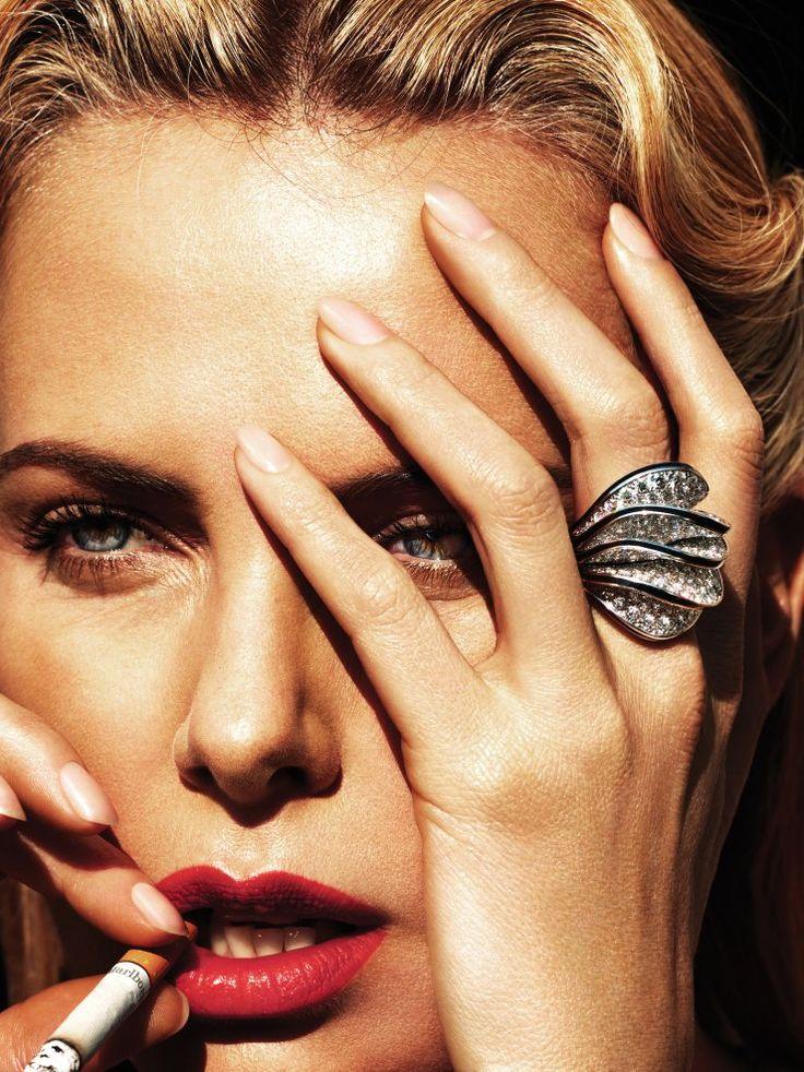 Publication: W Magazine May 2015 Model: Charlize Theron Photographer: Mert Alas & Marcus Piggott
