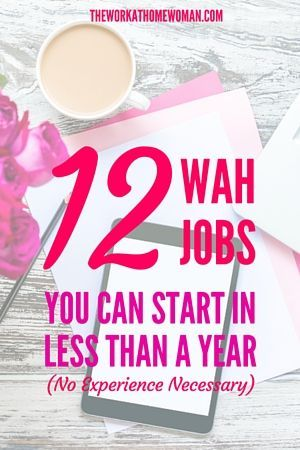 No experience necessary for these work-at-home jobs! All you need for these…