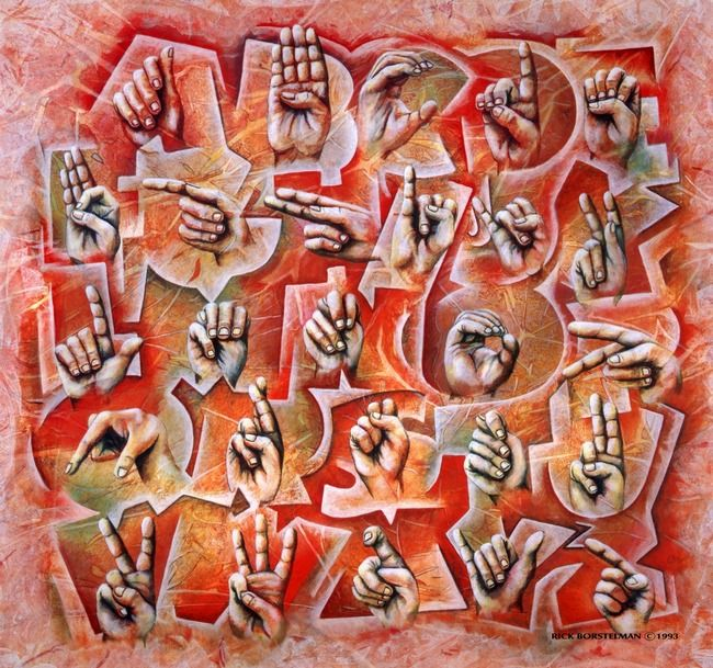 17 best images about sign language geb rdensprache on for Art and appetite american painting culture and cuisine