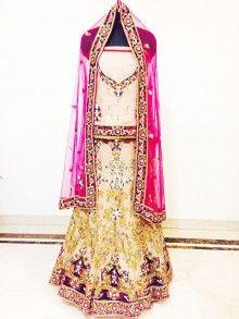 bridal lehenga with 50% discount...