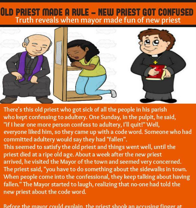 Old priest New priest joke