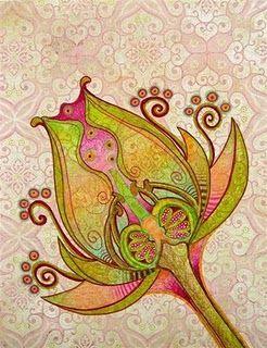 Flower graphic: Pink Flowers, Amazing Art, Gorgeous Art, Flowers Power, Bohemian Art, Flowers Art, Gorgeous Patterns, Flowers Design, Flowers Graphics