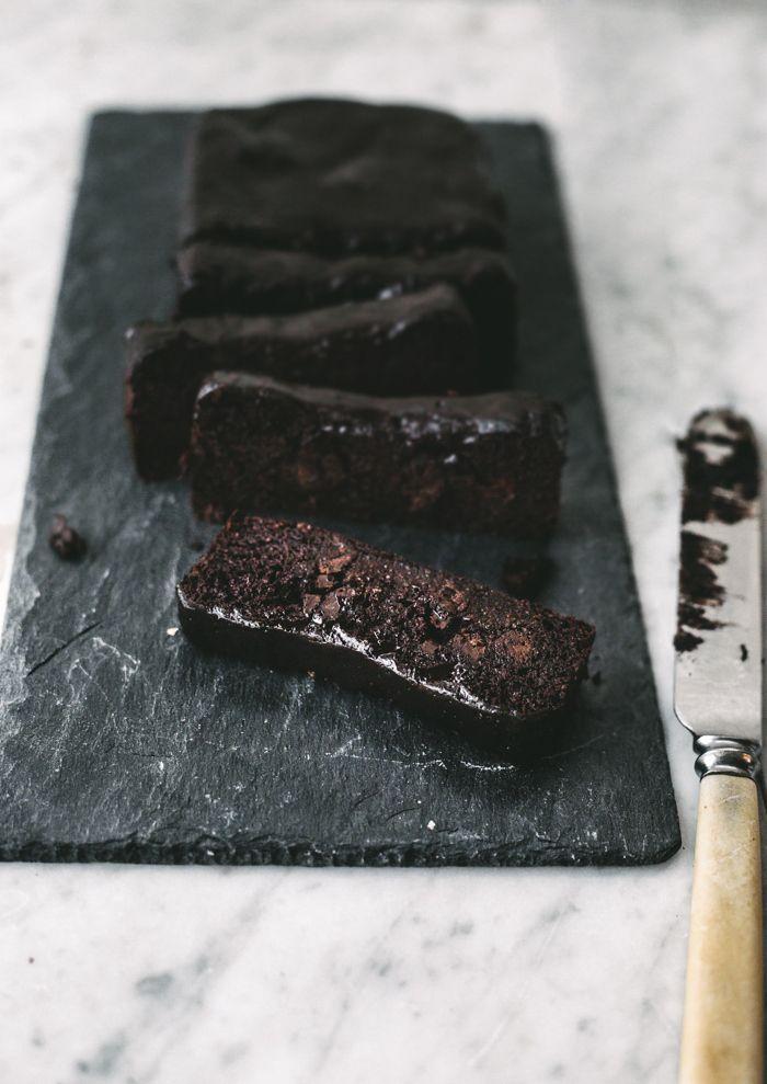 PASTEL DE CHOCOLATE (Healthy Sticky Chocolate Fudge Cake) #SinGluten #GlutenFree
