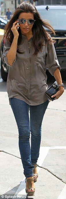 Another perfect outfit by Eva Longoria