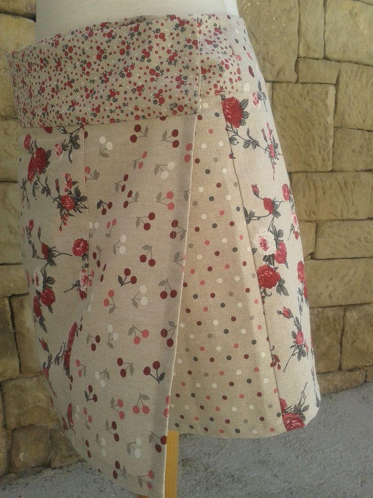 descarga el patrón de esta sencilla y original falda, que puedes utilizar en diferentes tallas.