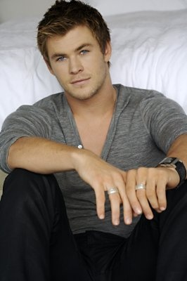 Chris Hemsworth. Ill take him, Or Liam Hemsworth his brother. There austrailian