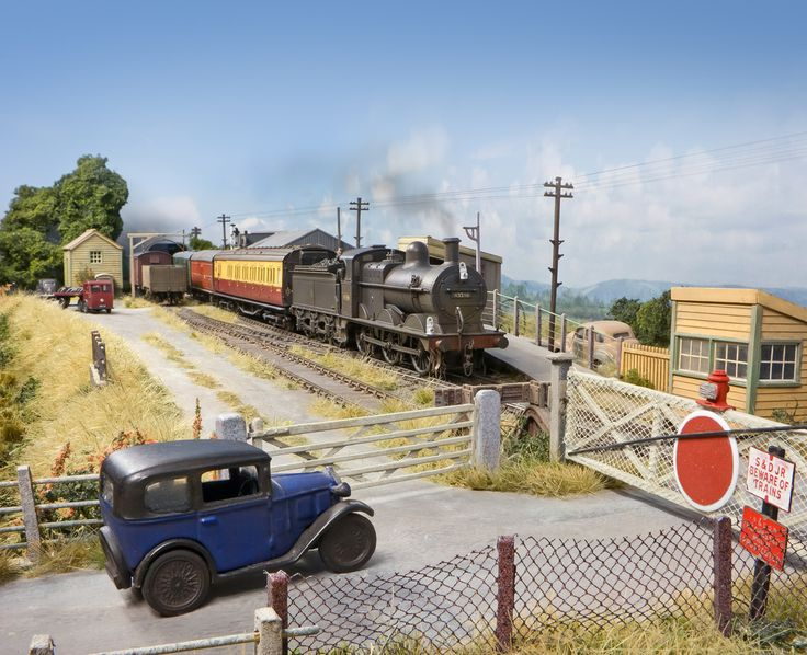 132 best Scenery images on Pinterest   Model trains, Dioramas and ...