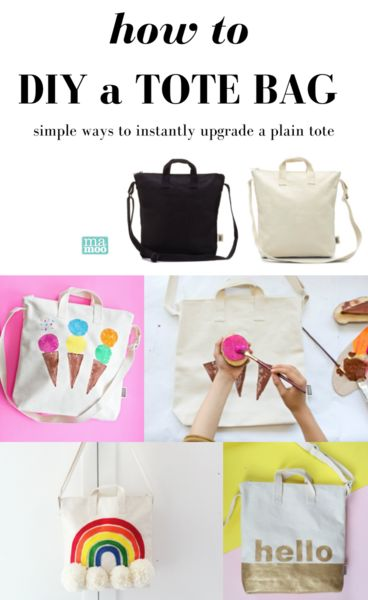 The ONLY guide you'll need for fun, kid-friendly ways to decorate a blank canvas tote!