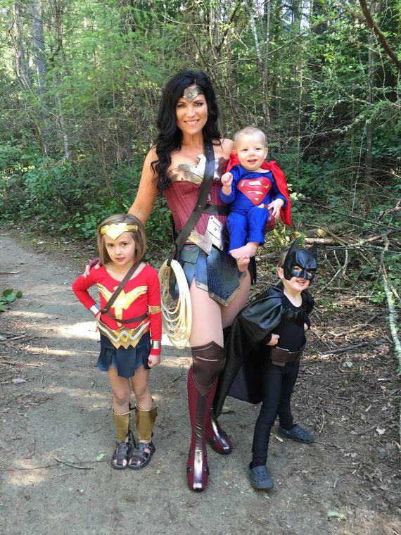 PREMIUM personalizado SUPERMAN amanecer de justicia traje para niño-niño-adolescente