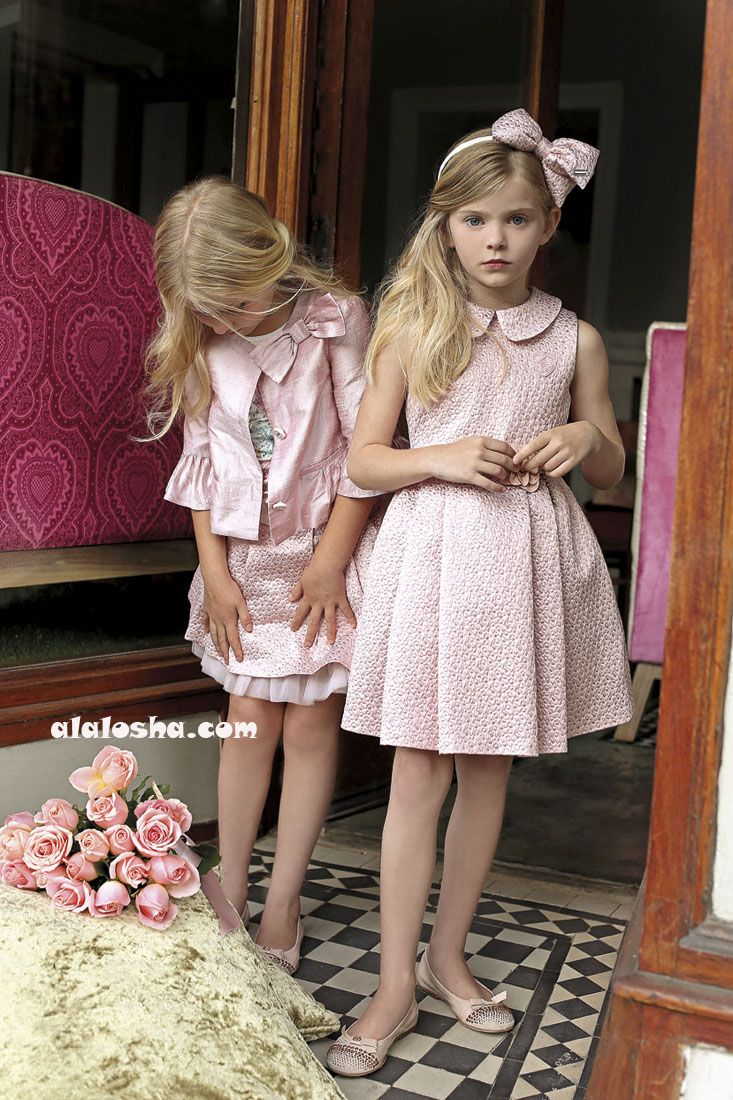 ALALOSHA: VOGUE ENFANTS: Miss Blumarine SS'14 Girls Ad Campaign