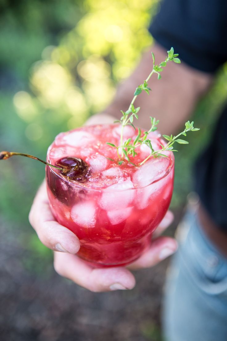 Ginger Beer Cherry Vodka Soda | halfbakedharvest.com @hbharvest