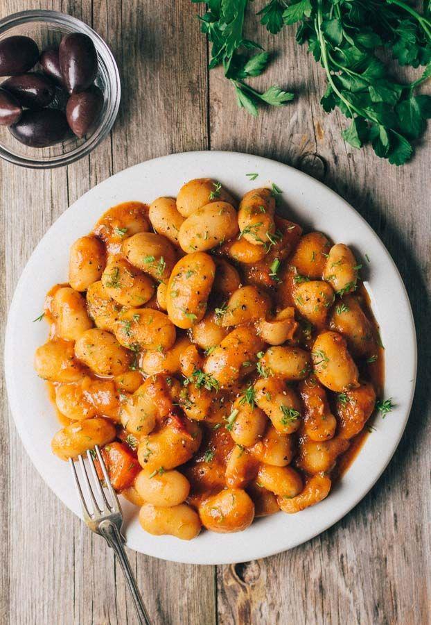 Greek Butter Beans Recipe (Gigantes Plaki)