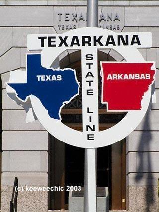 Texarkana Arkansas - Gotta love home.