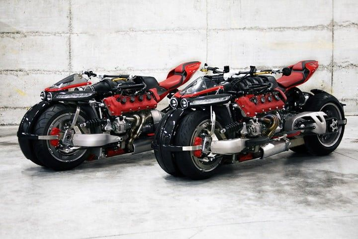The French Motorcycle Manufacturer Lazareth 470hp LM 847