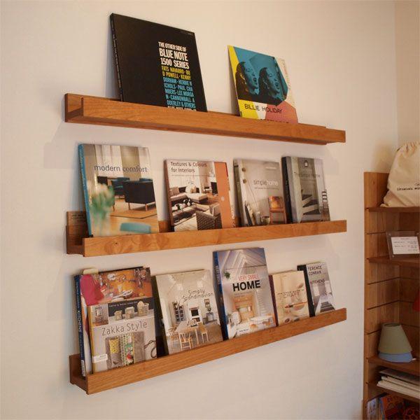 IXBKR壁掛けブックラック–無垢材家具・オーダーメイド木製家具のイクスス