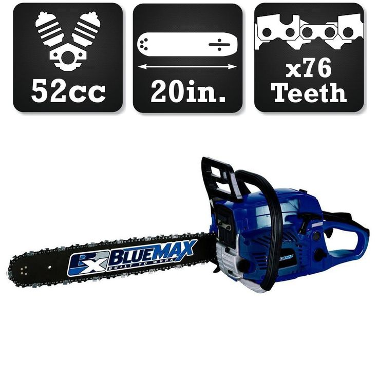 Blue Max 20 in. 52cc Gas Chainsaw