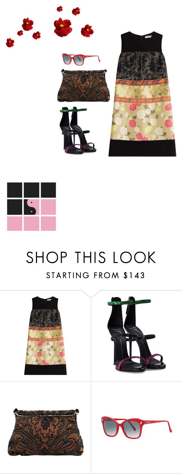 """#idontknoweven ;;; ;)"" by joe-khulan on Polyvore featuring Etro, Giuseppe Zanotti and Kenzo"