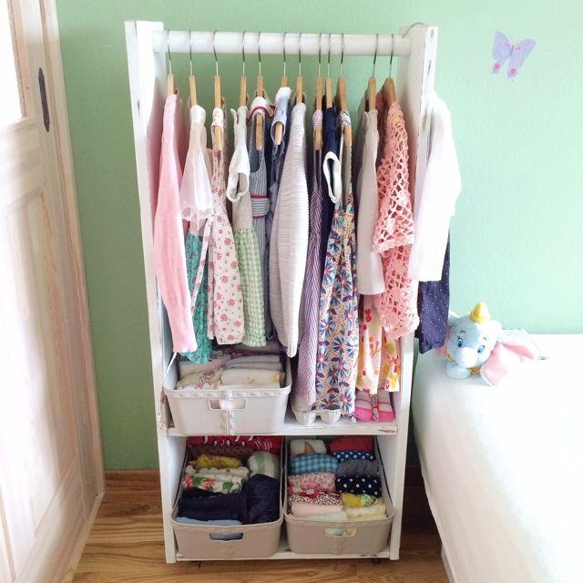 こども服/洋服/整理収納部/収納/DIY/ベッド周り…などのインテリア実例 - 2014-07-10 14:27:40 | RoomClip(ルームクリップ)