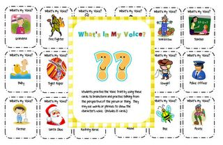 Great idea for students with autism....for social skills conversation practice.