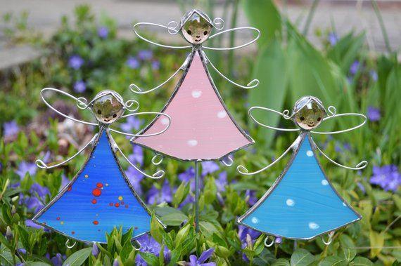 8 Blumenstecker Pflanzenstecker Dekoration Geschenk