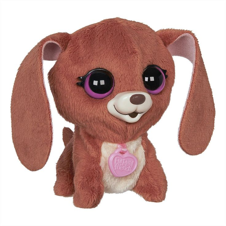 Howling hound dogs have never sounded so sweet! Stroke his soft back to hear this Harmony Cool pet's singing sounds. Watch him move his head! He's an adorable musical puppy friend with big eyes and sweet sounds. Take him along for on-the-go fun! FurReal Friends and all related characters are trademarks of Hasbro.<br><br>The Hasbro FurReal Friends The Luvimals Baby Plush - Hound Dog Features:<br><ul><li>Pet's head moves when he sings.</li><br><li>Can sing with other Luvimals pets (each sold…