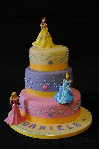 Princess Cake! · Tarta de princesas | Flickr - Photo Sharing!