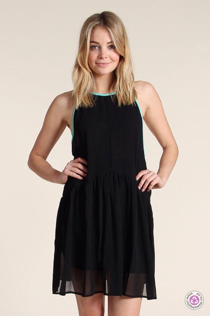Clotheswap - ilabb black bandit dress