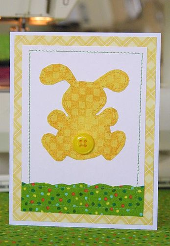 Bunny Easter Card