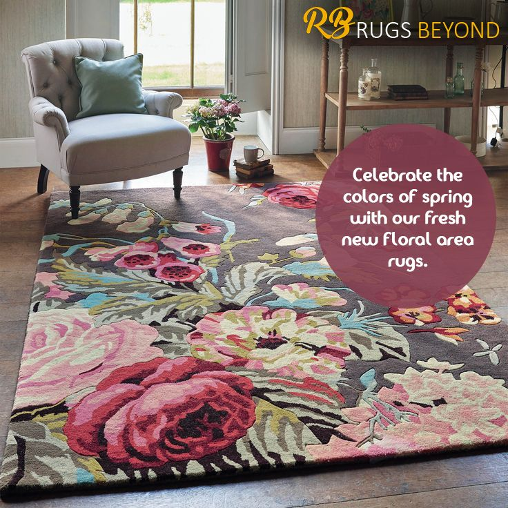 Celebrate the colors of spring with our fresh new floral area rugs in Mississauga. Check them out here only at Rugs Beyond.