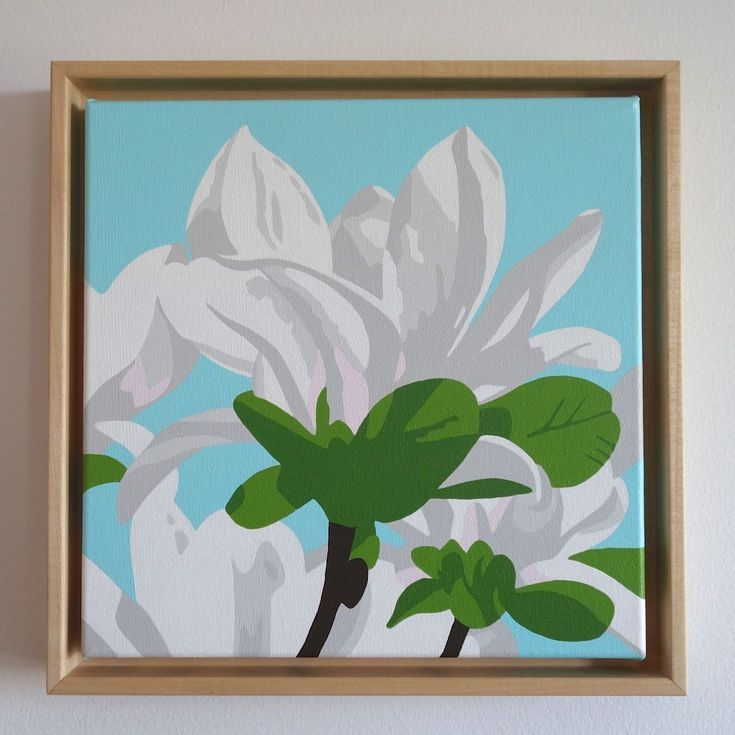 Buy White Magnolia, Acrylic painting by Susan Porter on Artfinder. Discover thousands of other original paintings, prints, sculptures and photography from independent artists.