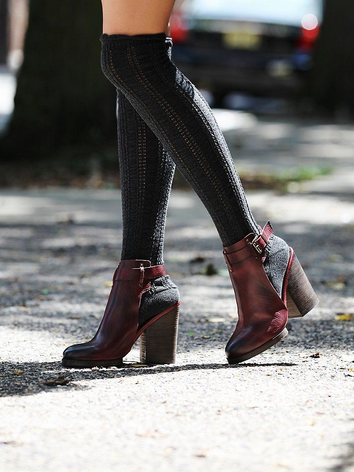 Free People Breton Heeled Boot at Free People Clothing Boutique - wish I could afford these!