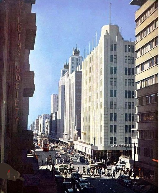 Commissioner Street when Jo'burg still had trams.