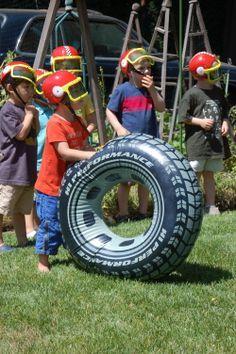 Racecar Birthday Party Games. Buy now @ RevelBee.com