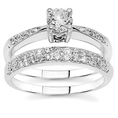 engagement ring sets on pinterest diamond wedding bands three rings