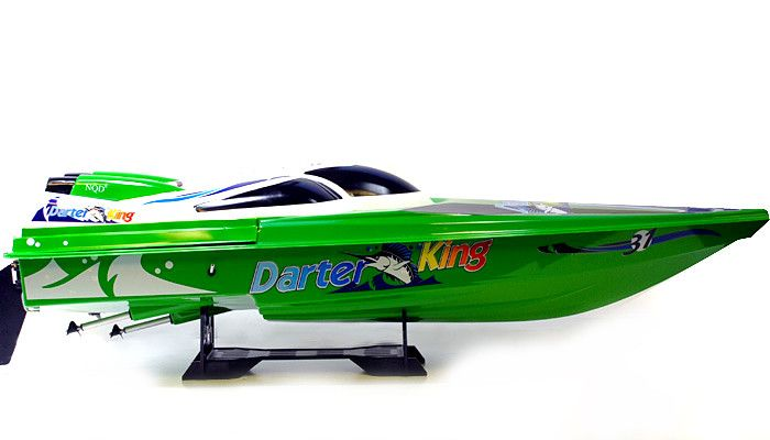 "45"" Huge Gigantically Huge Racer High Performance Electric EP Racing Speed Boat (Yellow)"