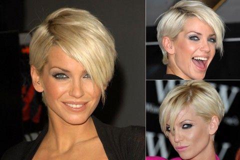 Sarah Harding - celebrity short hairstyles - short hair