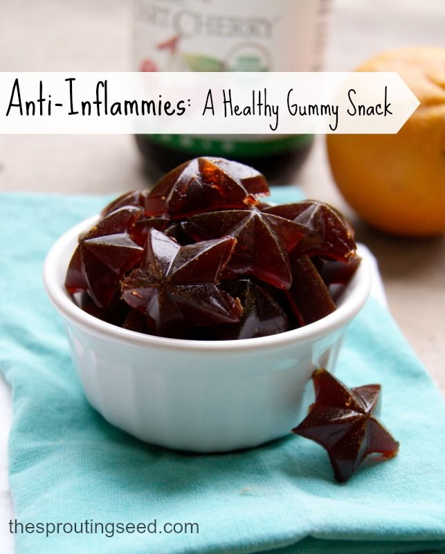 anti-inflammies: a healthy gummy snack with natural anti-inflammatories thesproutingseed.com