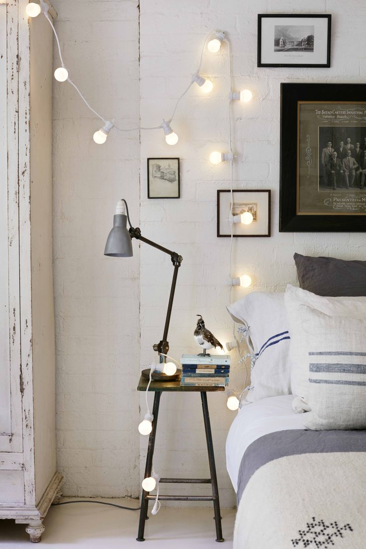 261 best bedroom fairy lights images on pinterest 10678 | 9be3364b12a52cbb6f396554895821c3