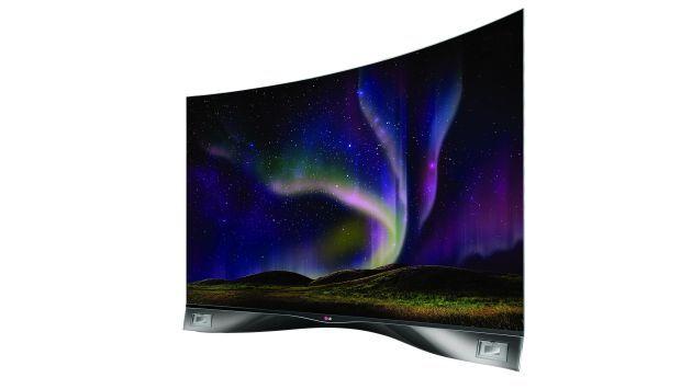 """TV curvo de 55"""" de LG a S/.29.999. #Peru21"""