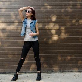 Prvi modni post > Dresslink teksas prsluk