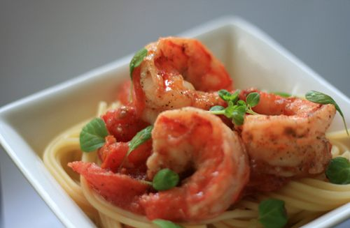 Scampi #shrimp #seafood #pasta