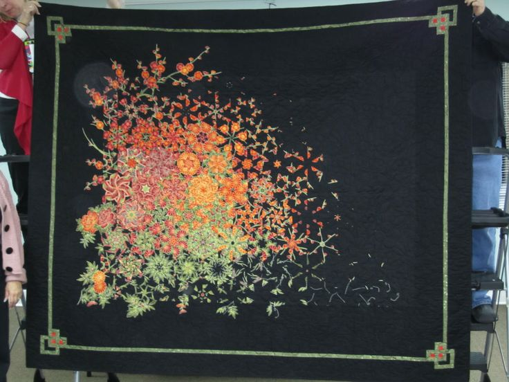 Image detail for -Forward Motion: Gorgeous One-Block Wonder Quilt